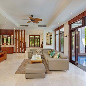 Abogo Furama Villa Da Nang 3bedrooms Tong Quan Phong Khach