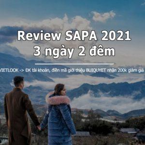 Review Sapa 3 Ngày 2 đêm 2021