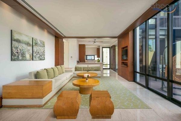 Cho Thuê Villa Đà Nẵng Hyatt Regency Resort Trực Diện Biển Phòng Khách
