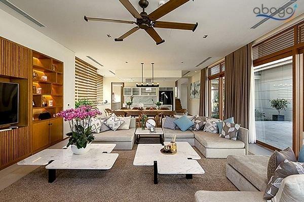 The Ocean Estates Thuê Villa Nguyên Cao Cấp Giá Rẻ Tại Đà Nẵng Phòng Khách Có Hồ Bơi Riêng