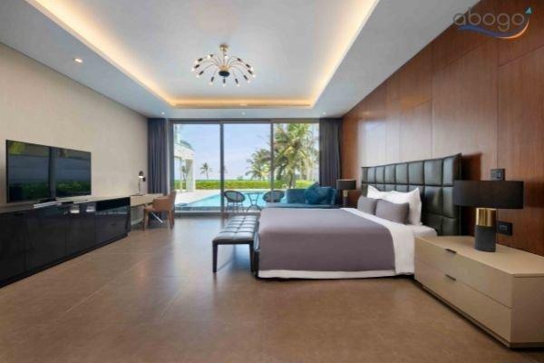 Thuê Villa Nguyên Căn Đà Nẵng Có Hồ Bơi Riêng Gần Biển Tại The Ocean Villas Phòng ngủ hướng biển View đẹp